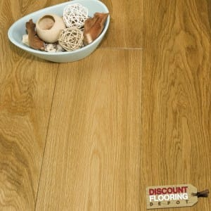 Engineered Oak Flooring 20/4 Brushed and Lacquered