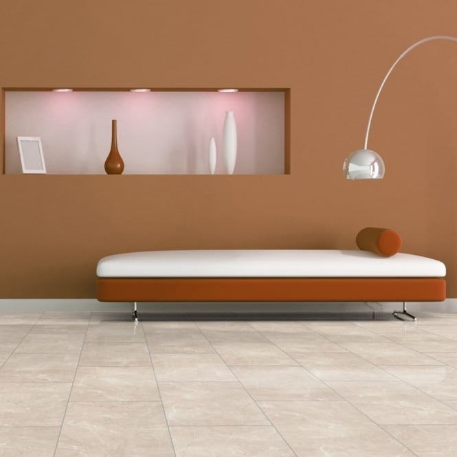 High Gloss - 8mm Tile Effect Laminate Flooring