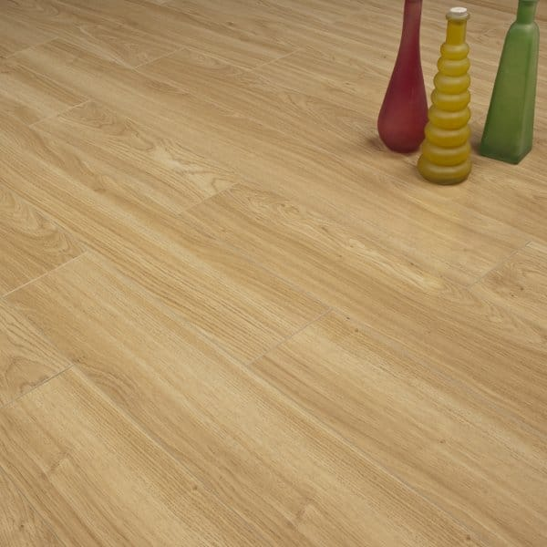 High Gloss Laminate Flooring Light Oak