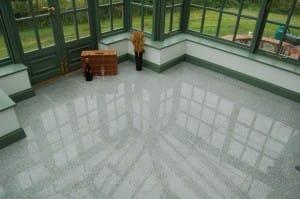 Conservatory flooring granite
