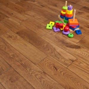 Conservatory flooring solid oak