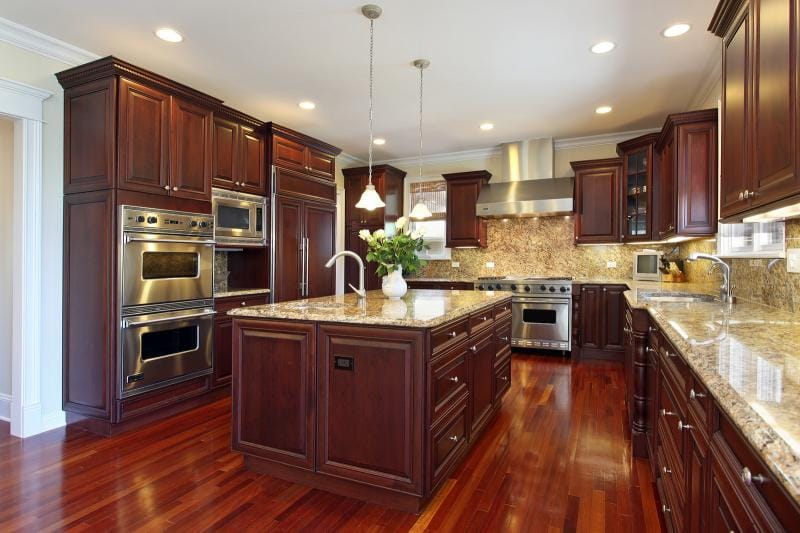 amazing wood flooring kitchen pictures - best image engine