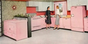 Hardwood Flooring for Kitchens Retro Vinyl