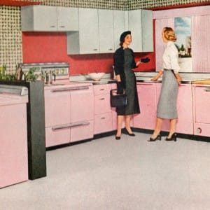 Retro Kitchen Vinyl