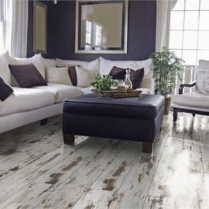 white washed flooring