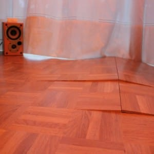 swollen flooring floors are creaking
