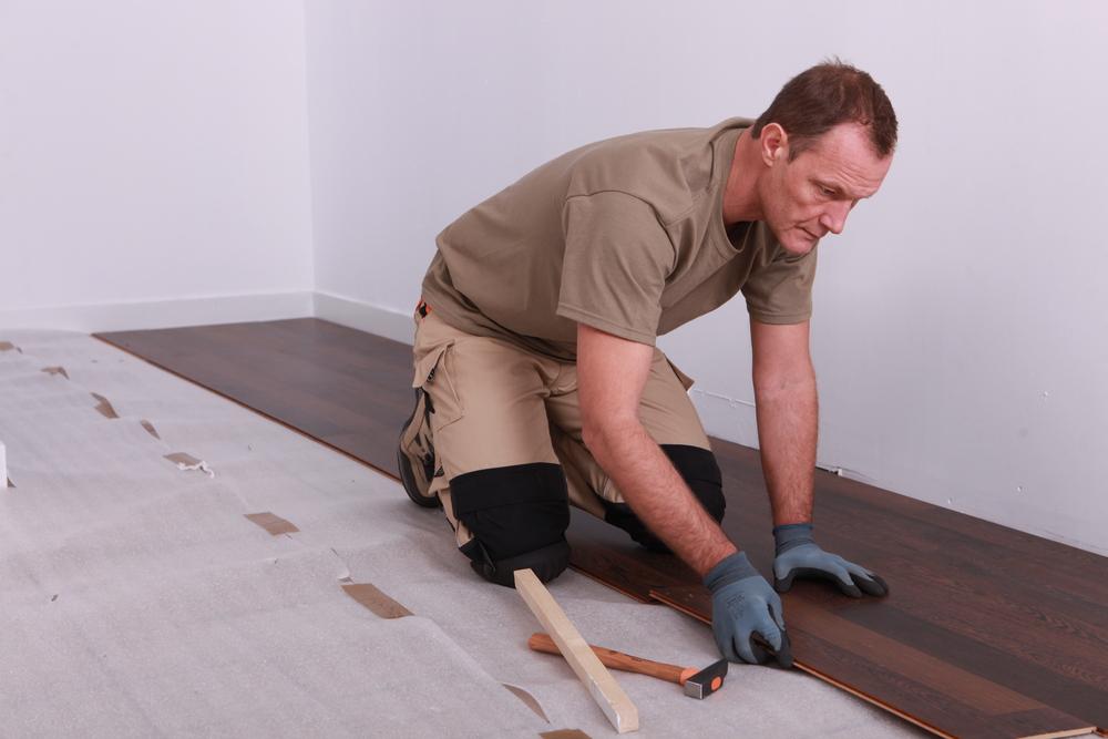 How To Fit Laminate Flooring, Putting Down Laminate Flooring