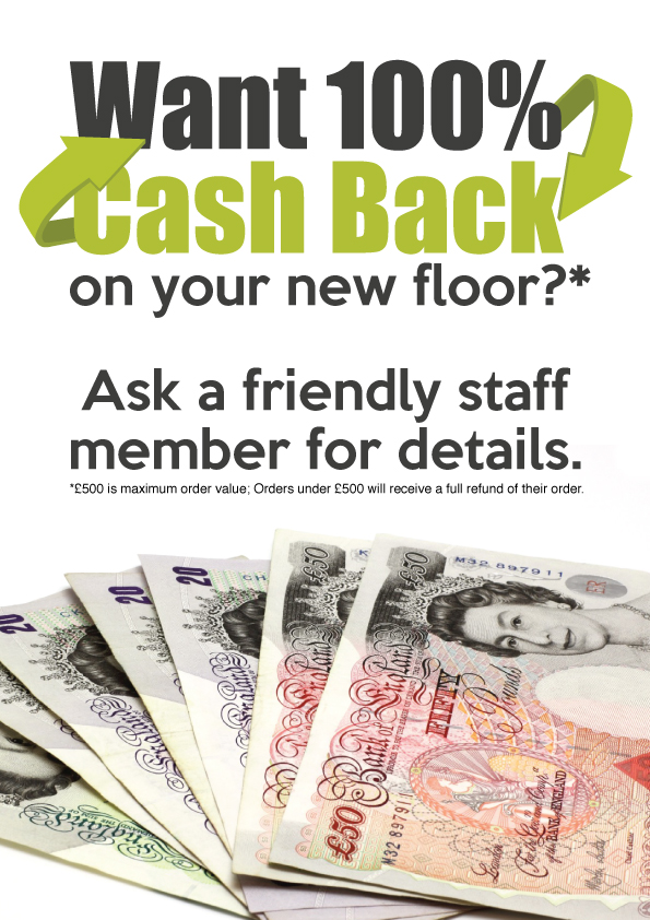 FINAL WINNER Get 100% Cash Back on your New Floor - Competition Time *Updated*