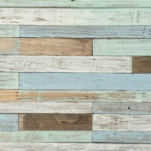 Image of floor trendy pastel wood boards