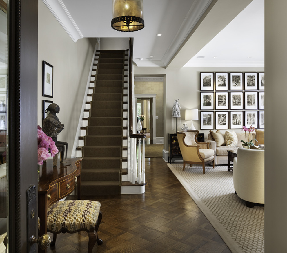Staircase Ideas For Your Hallway That Will Really Make An: How To Make Your Staircase Stand Out