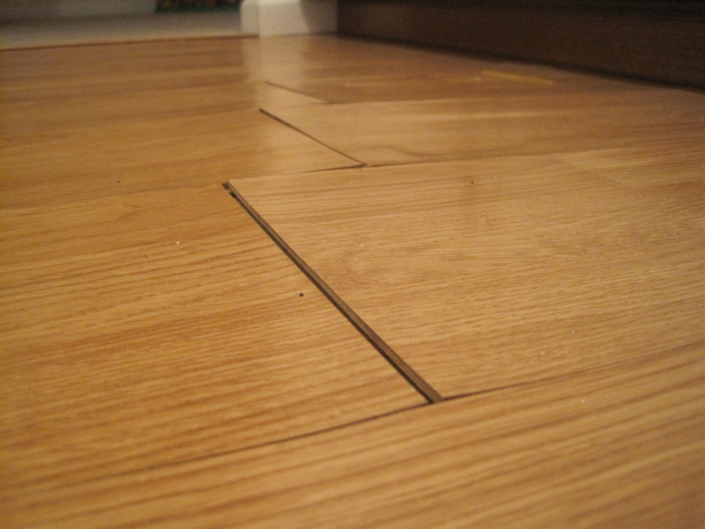 Kitchen Floor Warp 1