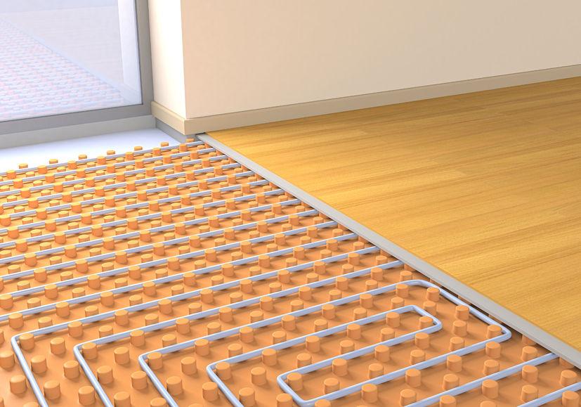 Install Underfloor Heating Under Wood Floor Discount Flooring