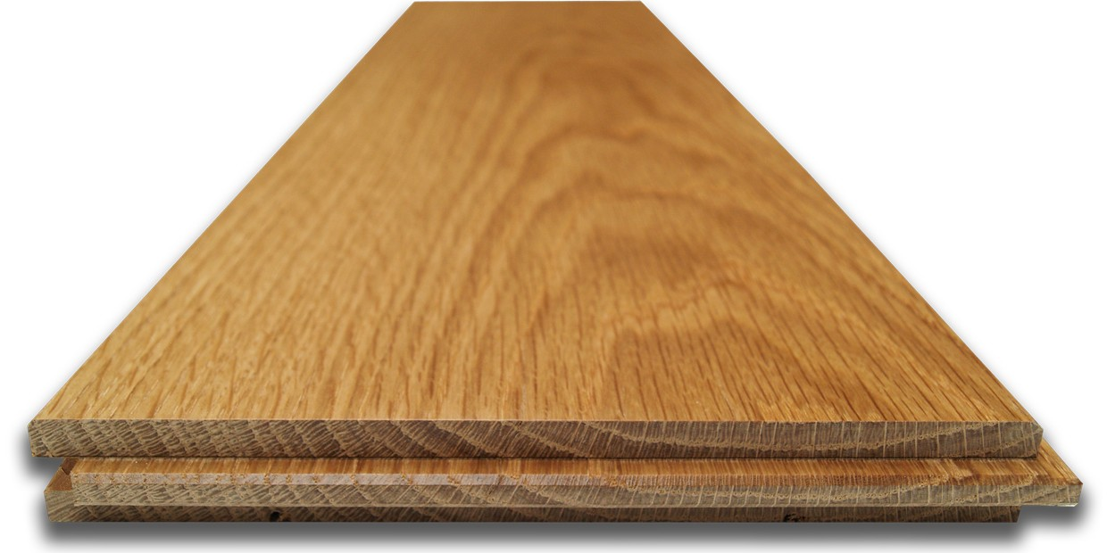 Solid Wood Flooring Oak 18mm X 90mm Lacquered