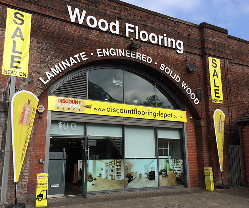 Discount Flooring Depot Manchester Showroom