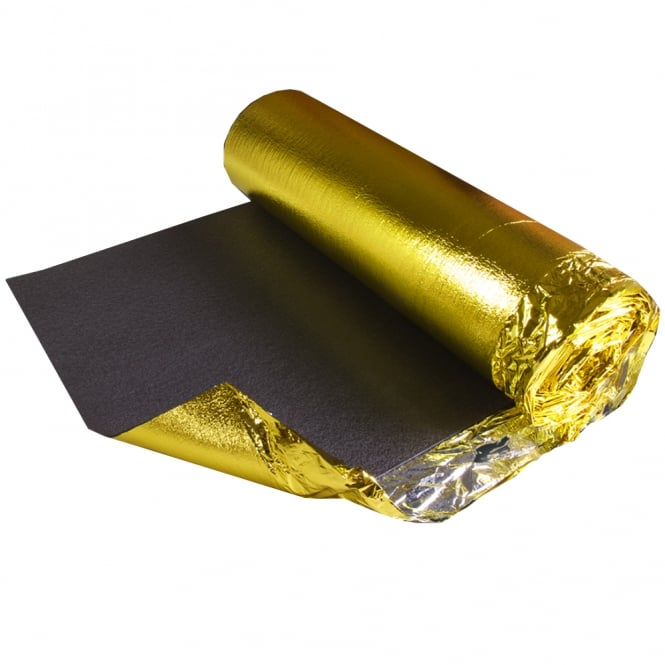 Acoustic Gold 5mm Underlay (10m2 Coverage)