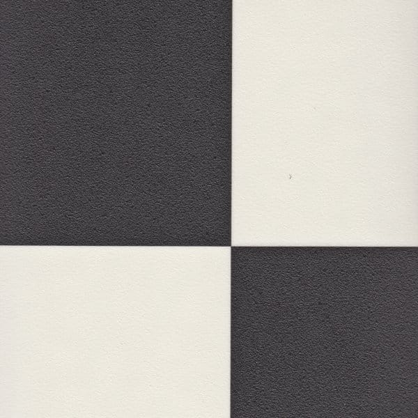 Checkered Tile Vinyl