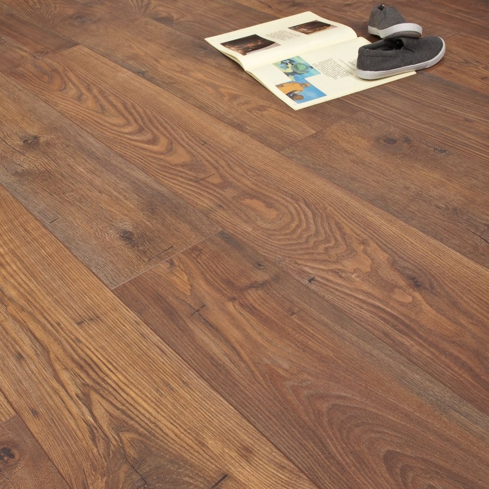 Americana bakersfield chestnut 10mm v groove ac4 for Flooring bakersfield
