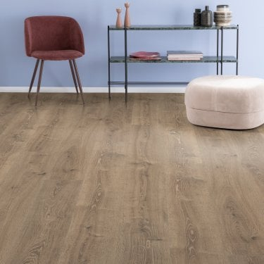 Amplified - 10mm laminate flooring - Dusty Oak