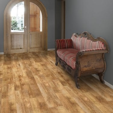 Aqua Valley - 12 mm laminate flooring - Rustic Barn