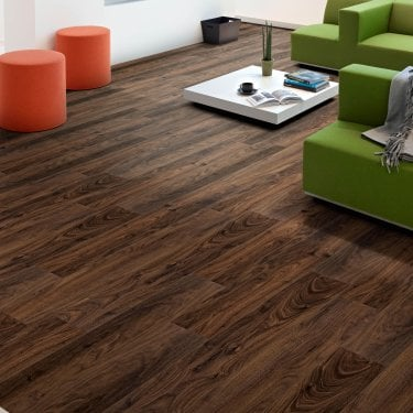 Aqua Valley - 12 mm laminate flooring - Walnut