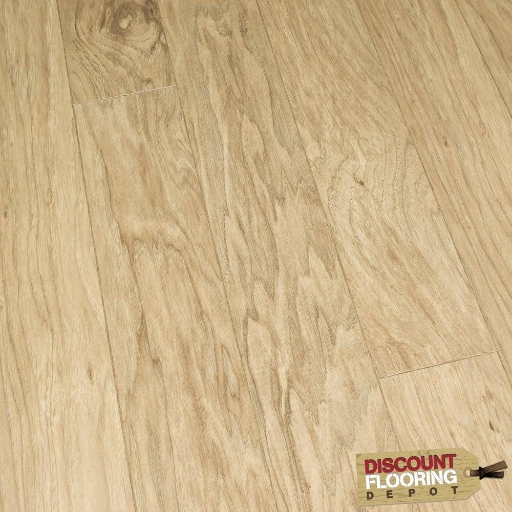 Ascent light hickory 8mm laminate flooring for Light laminate flooring