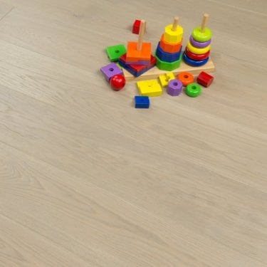 Aspire Click Engineered Oak Flooring 14/2.5mm x 180mm 1.8m Marzipan Brushed Matt Lacquered 2.26m2