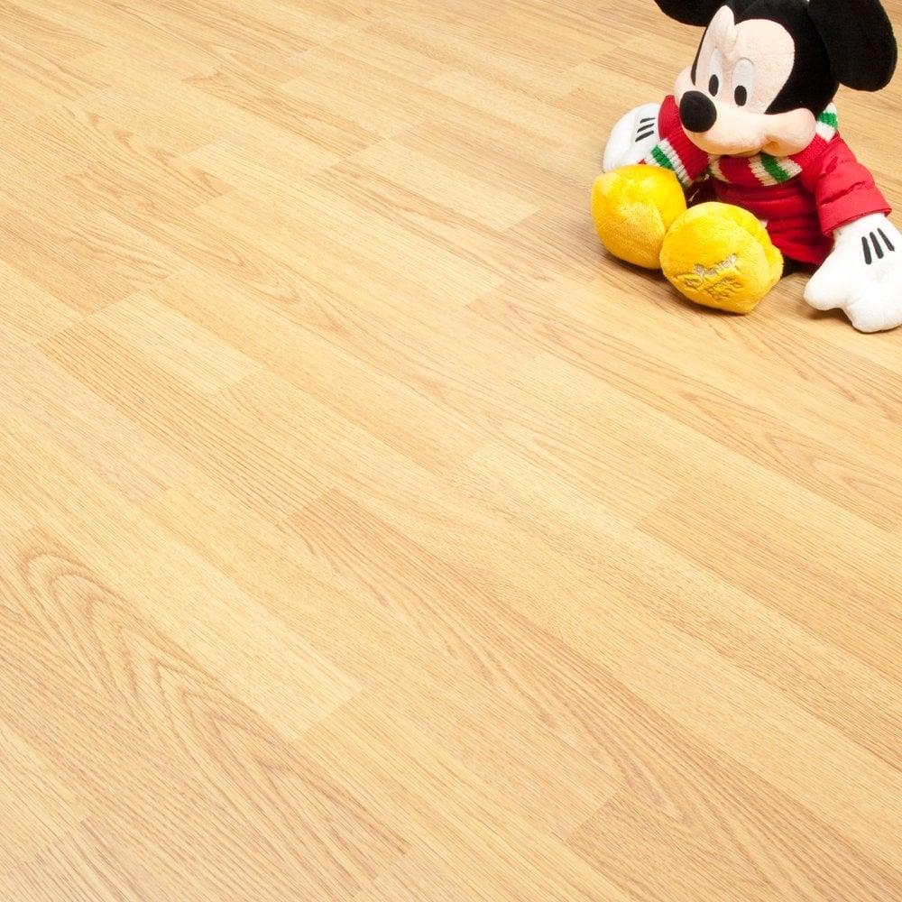 Natural Oak Effect Laminate Flooring Part - 37: Balterio Axion Natural Oak 276 7mm Classic Oak Flat AC3 2.4022m2