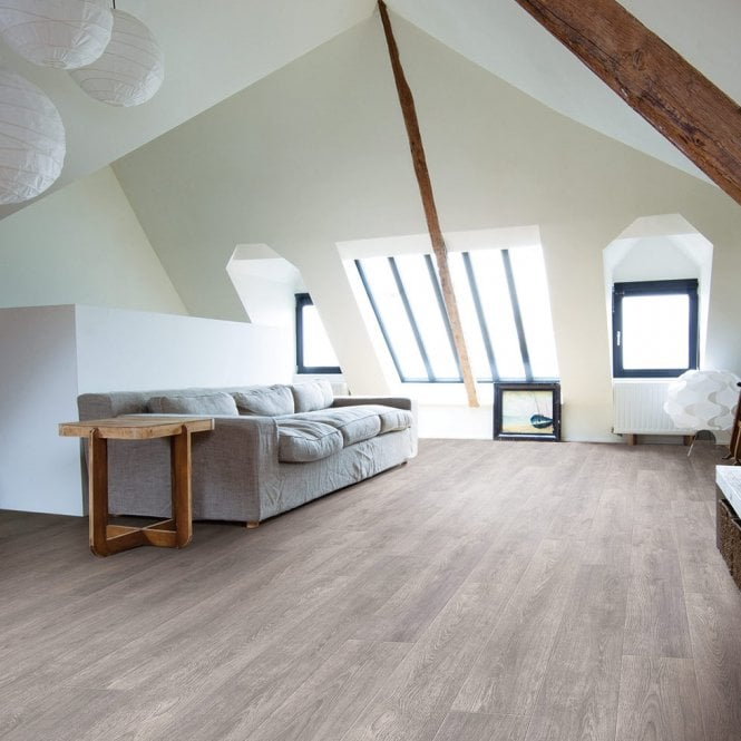 Dolce Vita - 7mm Laminate Flooring - Grey Barrel Oak 60018