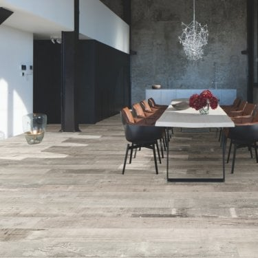 Balterio Grande Narrow - 9mm Laminate Flooring - Scaffold Wood