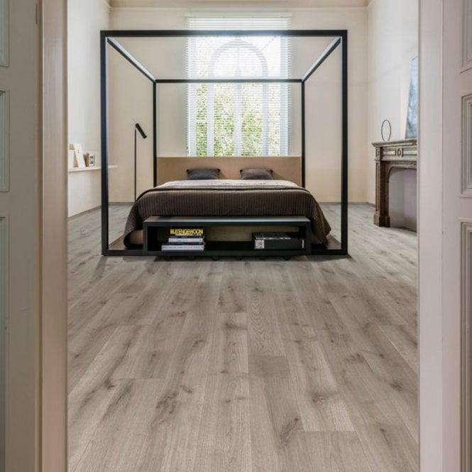 Grande Narrow - 9mm Laminate Flooring - Steel Oak
