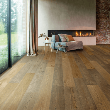 Balterio Grande Wide - 9mm Laminate Flooring - Bourbon Oak