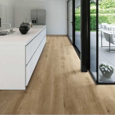 Balterio Grande Wide - 9mm Laminate Flooring - Seashell Oak