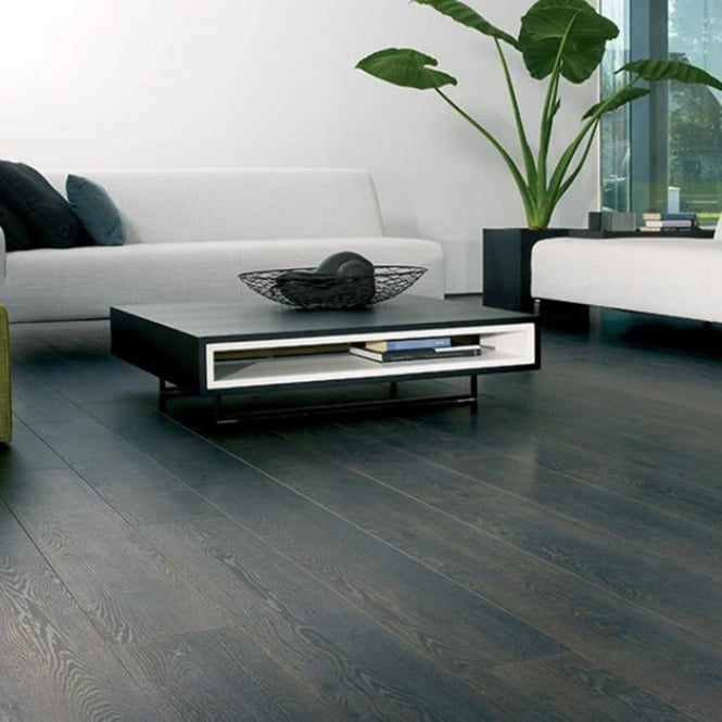 Magnitude - 8mm Laminate Flooring - Black Fired Oak