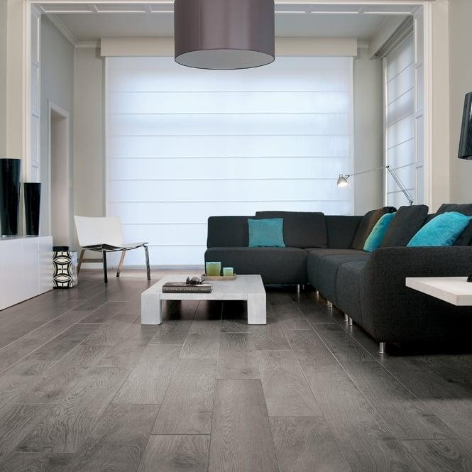 Magnitude - 8mm Laminate Flooring - Grey Brown Titanium Oak