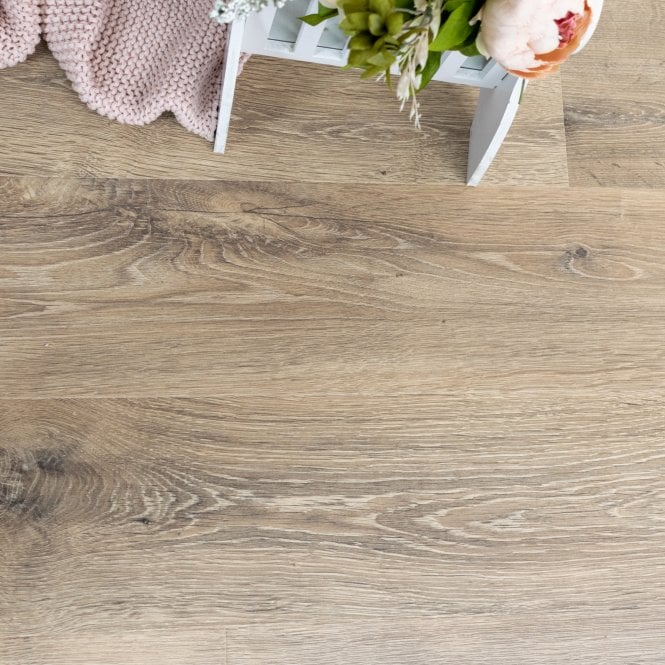 NEW Traditions - 9mm Laminate Flooring - Industrial Brown Oak