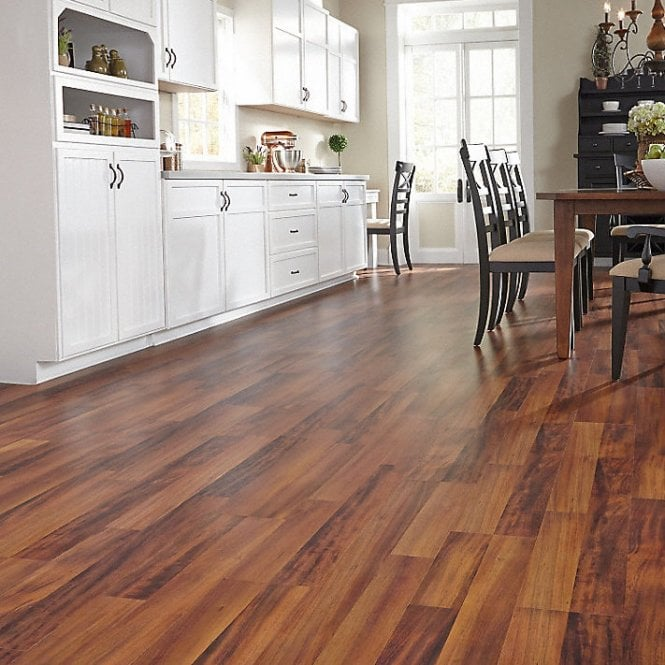 NEW Traditions - 9mm Laminate Flooring - Peruvian Walnut