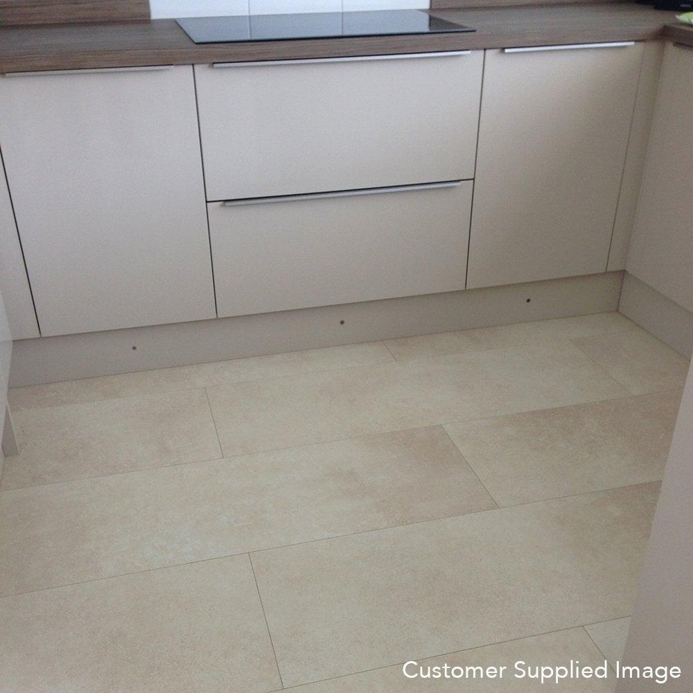 Balterio Purestone 8mm Tile Effect Laminate Flooring Lime Stone