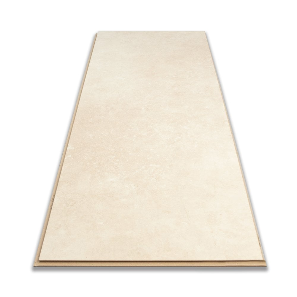 Purestone 8mm Tile Effect Laminate Flooring Lime Stone White 1 87m2