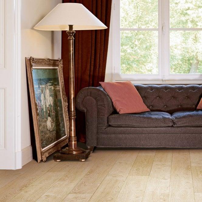 Quattro Eight - 8mm Laminate Flooring - Imperial Oak