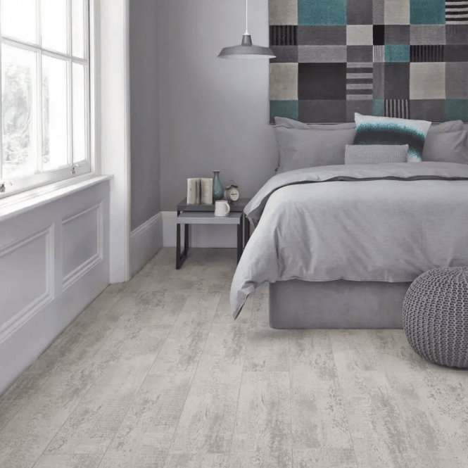 Quattro Eight - 8mm Laminate Flooring - Loft White Oak