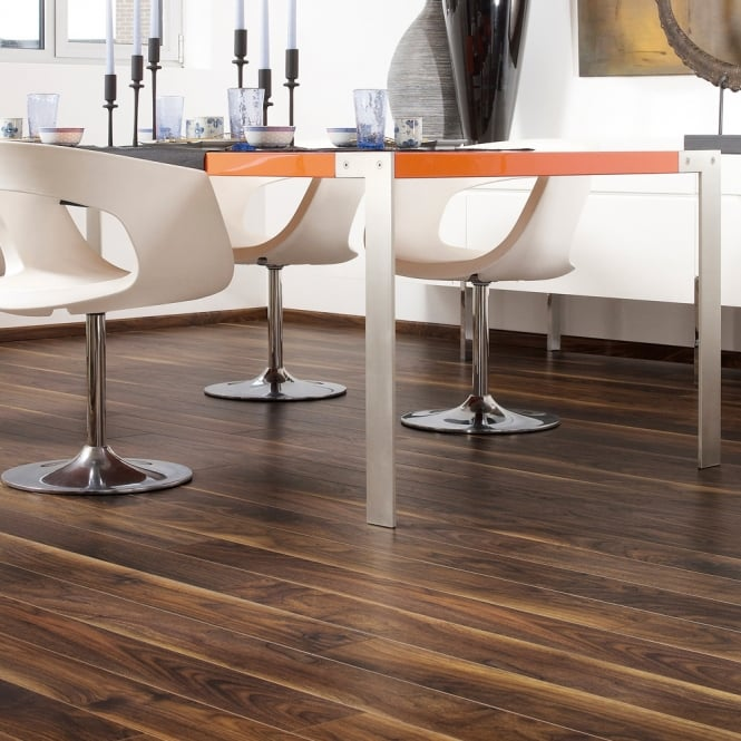 Stretto - 8mm Laminate Flooring - Dark Walnut