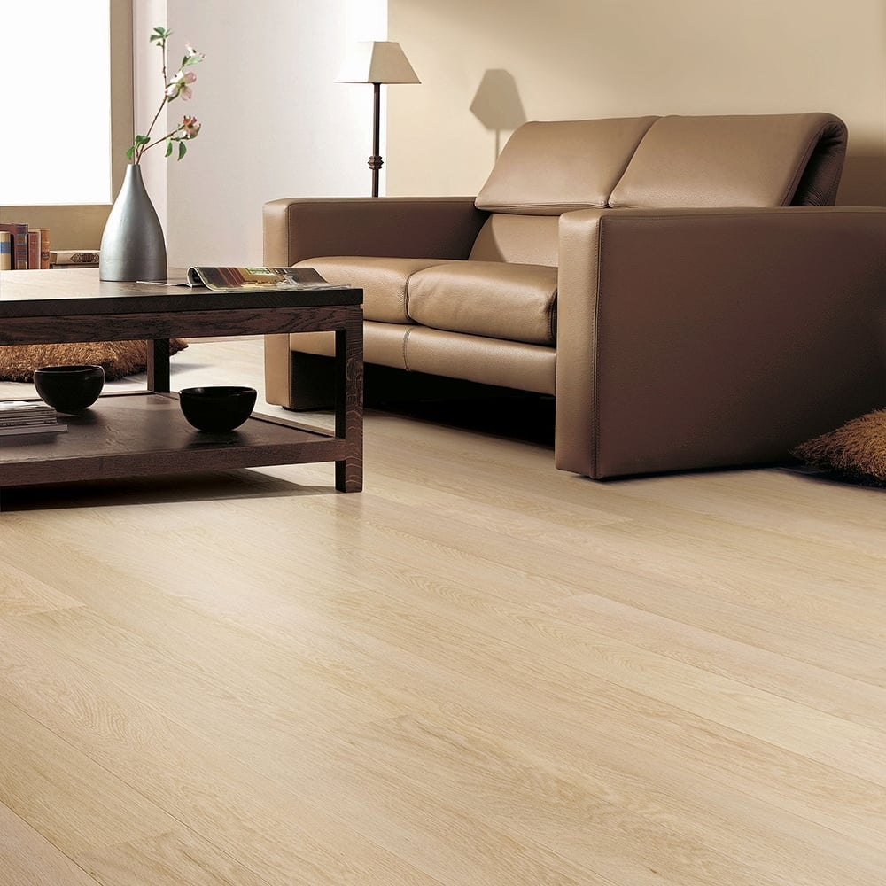 Balterio stretto silk oak 8mm laminate flooring v groove for Balterio stockists