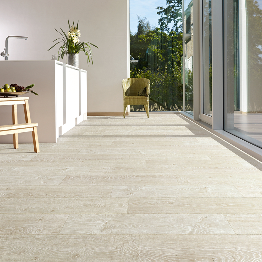 Tradition Elegant 9mm Laminate Flooring Frozen White Oak 1 92m2