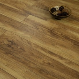Balterio Tradition Sculpture Hampton Hickory 162 9mm Laminate Flooring V-Groove AC4 1.9218m2