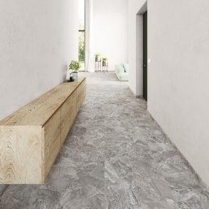 Balterio Viktor - Premium LVT Tile Effect - Grey Stone