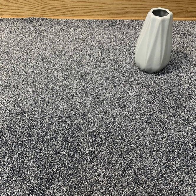 Bristol Saxony 177 - Grey Carpet - High Pile