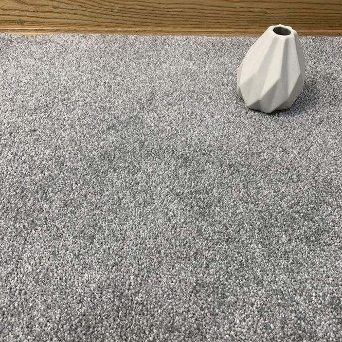 Bristol Saxony 275 - Silver Grey Carpet - High Pile