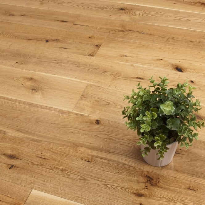 **Christmas Clearance** Titanium Series Engineered Flooring 15/4 x 189mm Oak Lacquered 2.81m2