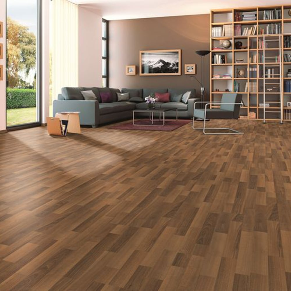 Classic - 7mm Laminate Flooring - Caramel Walnut - 2.48m2 ...