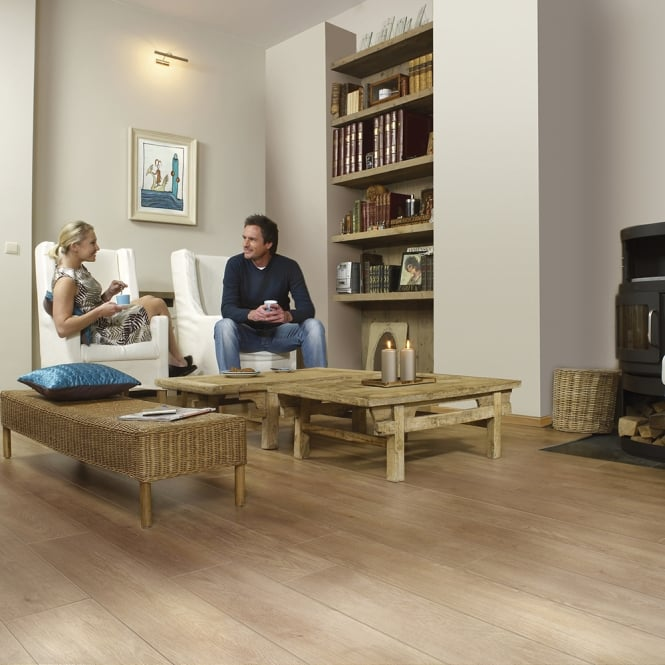 **Clearance** Balterio Magnitude Old Flemish Oak 545 8mm Laminate Flooring V-Groove AC4 2.162m2